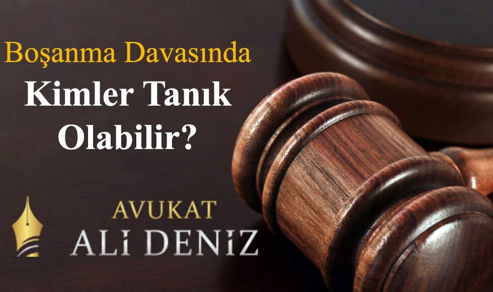 Boşanma Davasında Kimler Tanıklık Yapabilir?