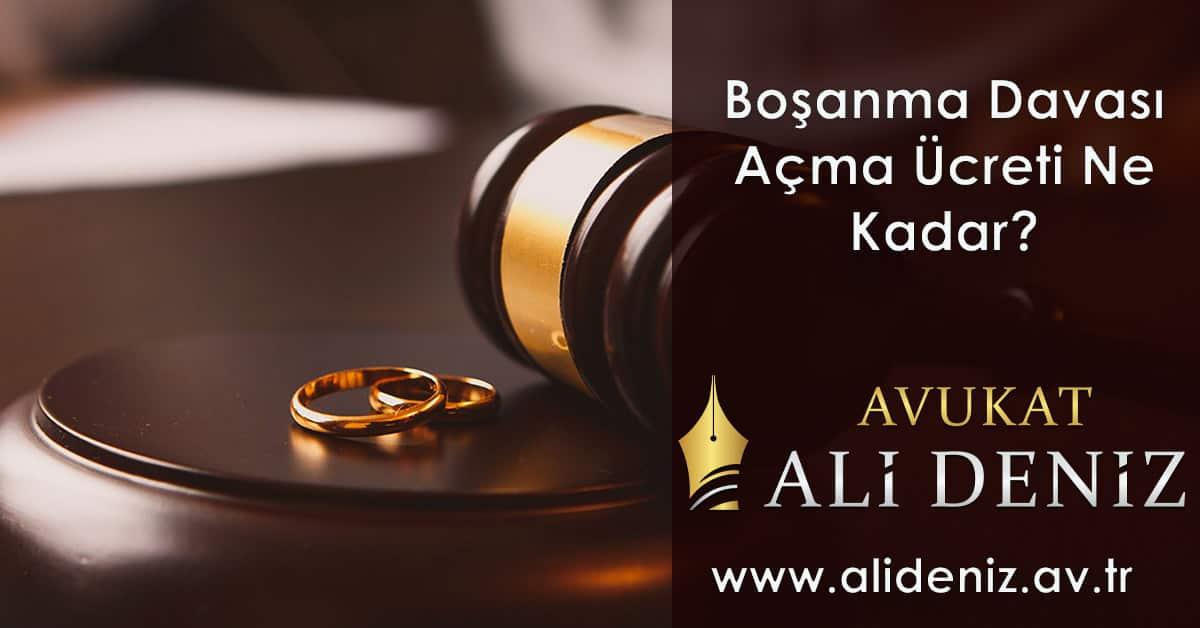 Boşanma Davası Açma Ücreti Ne Kadar?